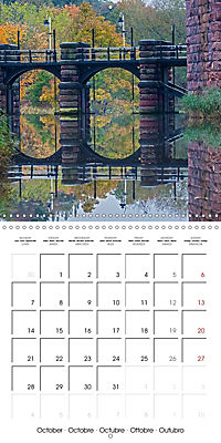 Reflections on the River Weaver (Wall Calendar 2019 300 × 300 mm Square) - Produktdetailbild 10