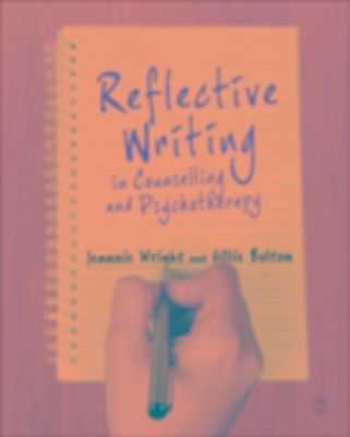 reflective journal counselling Buy reflective writing in counselling and psychotherapy 1 by jeannie wright,  gillie bolton, gillie e j bolton (isbn: 9780857023285) from amazon's book store .
