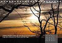 Reflexionen in zwölf Texten und Bildern (Tischkalender 2019 DIN A5 quer) - Produktdetailbild 11