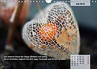 Reflexionen in zwölf Texten und Bildern (Wandkalender 2019 DIN A4 quer) - Produktdetailbild 7