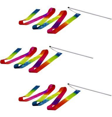 Regenbogen-Trickband, 3er-Set