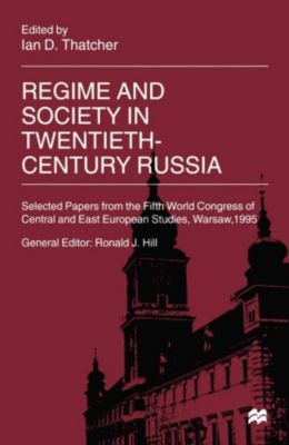 Regime and Society in Twentieth-Century Russia
