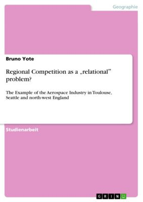 """Regional Competition as a """"relational"""" problem?, Bruno Yote"""