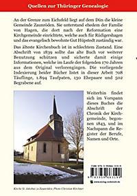 Register zu den Kirchenbüchern der evg.-luth. Kirchgemeinde Zaunröden 1667-1800 - Produktdetailbild 2