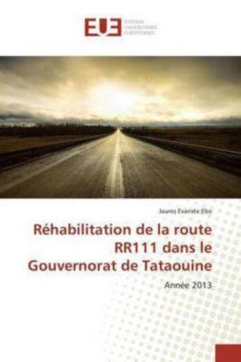 Réhabilitation de la route RR111 dans le Gouvernorat de Tataouine, Jaures Evariste Ebo