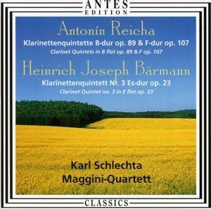 Reicha/Bärmann:Klarinettenquintette, Schlechta, Maggini Quartett