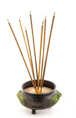 Räucherstäbchen Nepali Gras Holy Smokes Blue Line 50 g natürliche Düfte