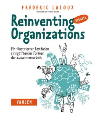 Reinventing Organizations visuell, Frederic Laloux
