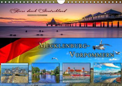 Reise durch Deutschland - Mecklenburg-Vorpommern (Wandkalender 2019 DIN A4 quer), Peter Roder
