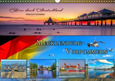 Reise durch Deutschland - Mecklenburg-Vorpommern (Wandkalender 2019 DIN A3 quer), Peter Roder