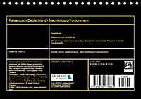 Reise durch Deutschland - Mecklenburg-Vorpommern (Tischkalender 2019 DIN A5 quer) - Produktdetailbild 13