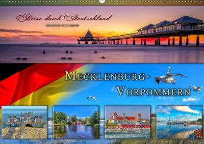 Reise durch Deutschland - Mecklenburg-Vorpommern (Wandkalender 2019 DIN A2 quer), Peter Roder