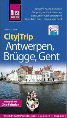 Reise Know-How CityTrip Antwerpen, Brügge, Gent - Günter Schenk |