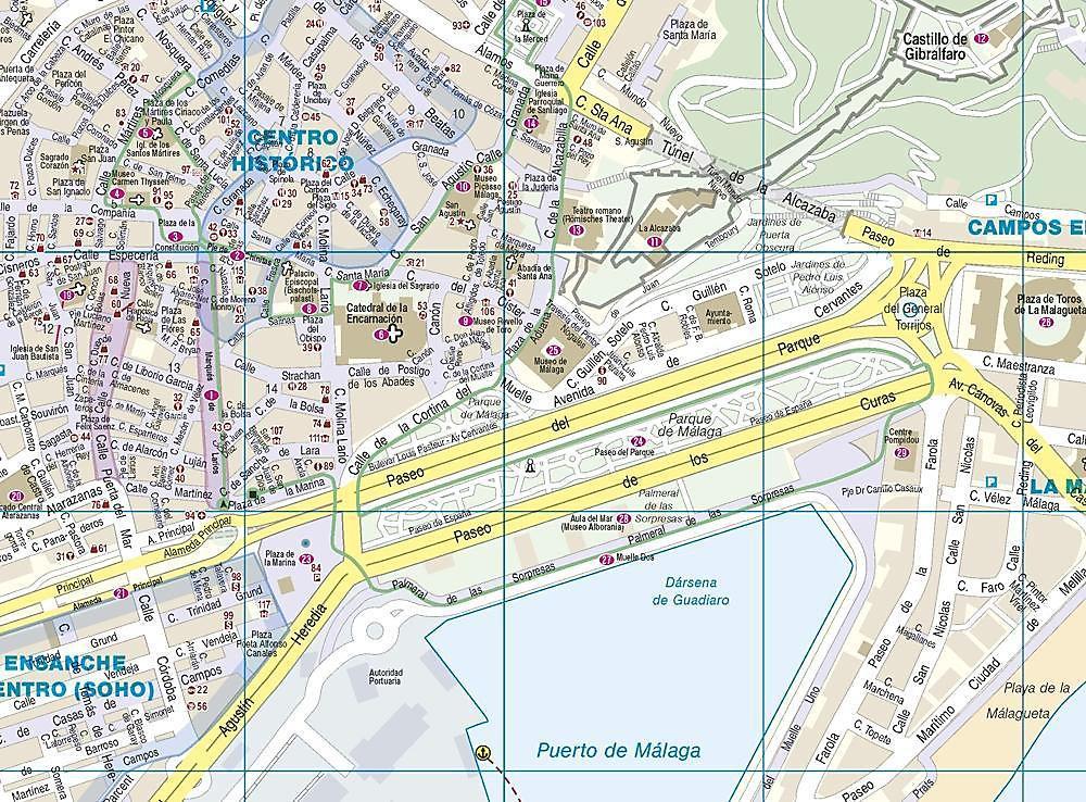 Malaga Altstadt Karte.Reise Know How Citytrip Malaga Buch Versandkostenfrei Bei