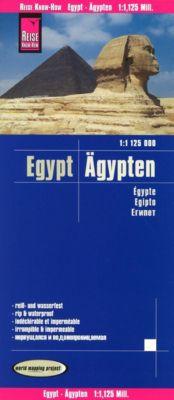 Reise Know-How Landkarte Ägypten / Egypt / Egypte / Egipto - Reise Know-How Verlag Peter Rump |