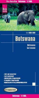Reise Know-How Landkarte Botswana; Botsuana - Peter Rump Verlag |