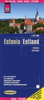 Reise Know-How Landkarte Estland (1:275.000); Estonia / Estonie