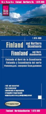 Reise Know-How Landkarte Finnland und Nordskandinavien / Finland and Northern Scandinavia (1:875.000); Finlande et nord - Reise Know-How Verlag Peter Rump |