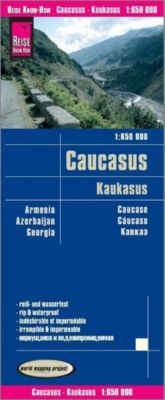Reise Know-How Landkarte Kaukasus / Caucasus - Reise Know-How Verlag Peter Rump |
