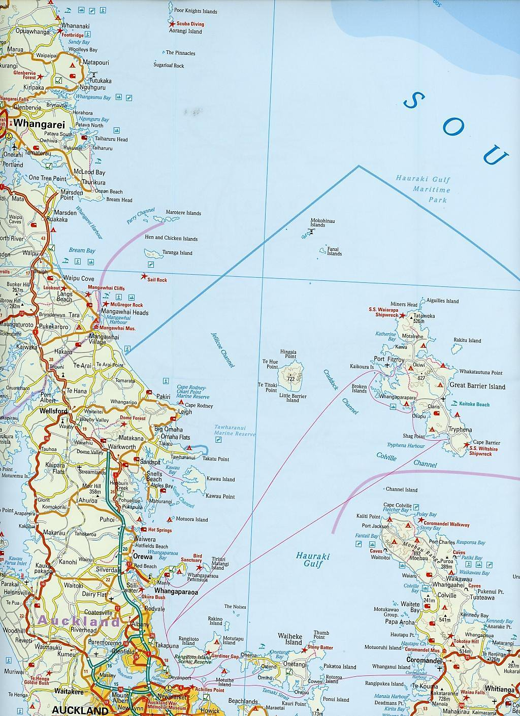 Reise Know-How Landkarte Neuseeland, Nordinsel 1:550.000 ...