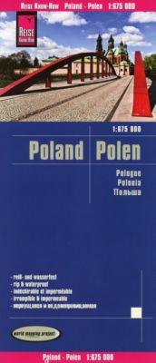 Reise Know-How Landkarte Polen / Poland (1:675.000)