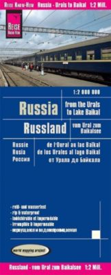 Reise Know-How Landkarte Russland - vom Ural zum Baikalsee (1:2.000.000); Russia - From the Urals to the Lake Baikal / R - Reise Know-How Verlag Peter Rump |