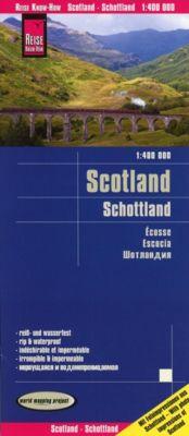 Reise Know-How Landkarte Schottland (1:400.000); Scotland / Écosse / Escocia