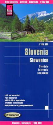 Reise Know-How Landkarte Slowenien / Slovenia / Slovénie / Eslovenia -  pdf epub