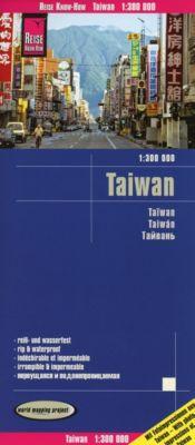 Reise Know-How Landkarte Taiwan (1:300.000) - Reise Know-How Verlag Peter Rump |