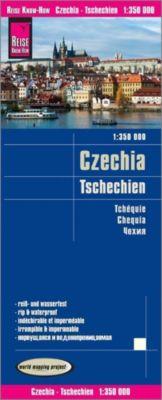 Reise Know-How Landkarte Tschechien (1:350.000) - Reise Know-How Verlag Peter Rump |
