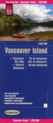 Reise Know-How Landkarte Vancouver Island (1:250.000) - Reise Know-How Verlag Peter Rump pdf epub