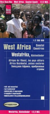 Reise Know-How Landkarte Westafrika, Küstenländer (1:2.200.000) : Senegal bis Nigeria - Reise Know-How Verlag Peter Rump pdf epub