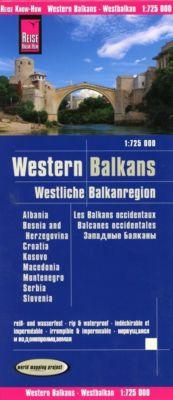 Reise Know-How Landkarte Westliche Balkanregion; Western Balkans / Les Balkans occidentaux / Balcanes occidentales - Reise Know-How Verlag Peter Rump pdf epub
