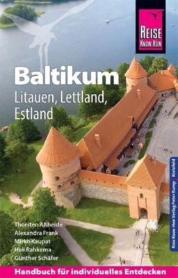 Reise Know-How Reiseführer Baltikum: Litauen, Lettland, Estland - Günther Schäfer |
