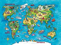 Reise um die Welt (Kinderpuzzle) - Produktdetailbild 1