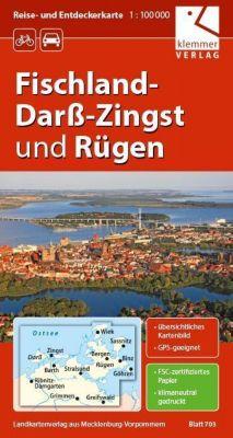 Reise- und Entdeckerkarte Fischland-Darß-Zingst und Rügen 1:100.000 -  pdf epub