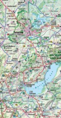 Reise- und Entdeckerkarte Mecklenburgische Schweiz und Peenetal 1 : 100 000