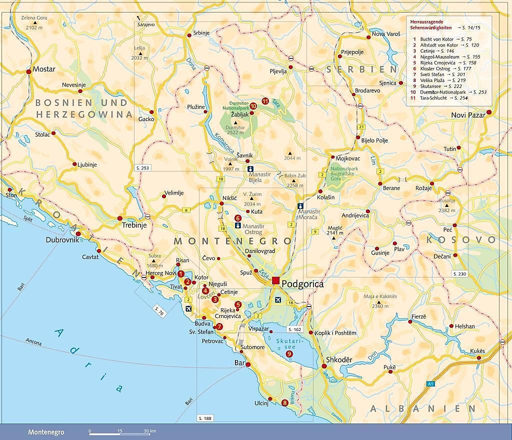 Kotor Montenegro Karte.Reisefuhrer Montenegro Buch Von Marko Plesnik Portofrei