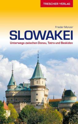Reiseführer Slowakei, Frieder Monzer
