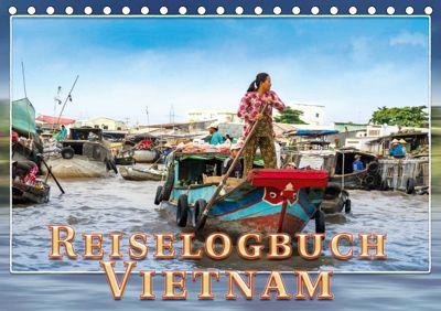 Reiselogbuch Vietnam (Tischkalender 2019 DIN A5 quer), Dieter Gödecke