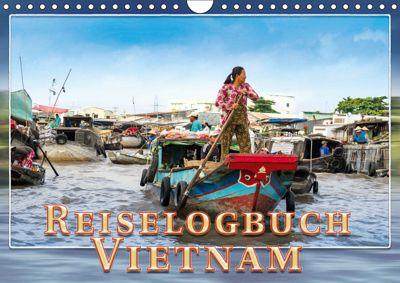 Reiselogbuch Vietnam (Wandkalender 2019 DIN A4 quer), Dieter Gödecke