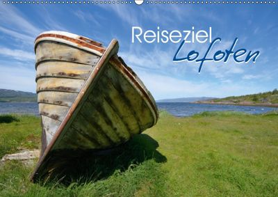 Reiseziel Lofoten (Wandkalender 2019 DIN A2 quer), Miriam Kaina
