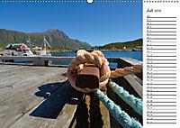 Reiseziel Lofoten (Wandkalender 2019 DIN A2 quer) - Produktdetailbild 7