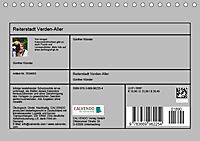 Reiterstadt Verden - Aller (Tischkalender 2019 DIN A5 quer) - Produktdetailbild 13
