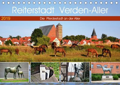 Reiterstadt Verden - Aller (Tischkalender 2019 DIN A5 quer), Günther Klünder
