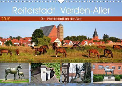 Reiterstadt Verden - Aller (Wandkalender 2019 DIN A3 quer), Günther Klünder