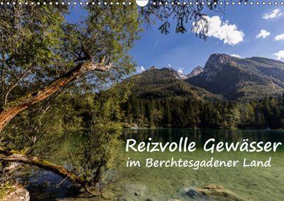 Reizvolle Gewässer im Berchtesgadener Land (Wandkalender 2019 DIN A3 quer), Axel Matthies