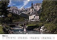 Reizvolle Gewässer im Berchtesgadener Land (Wandkalender 2019 DIN A3 quer) - Produktdetailbild 3