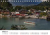 Reizvolle Gewässer im Berchtesgadener Land (Tischkalender 2019 DIN A5 quer) - Produktdetailbild 1