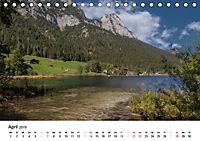 Reizvolle Gewässer im Berchtesgadener Land (Tischkalender 2019 DIN A5 quer) - Produktdetailbild 4
